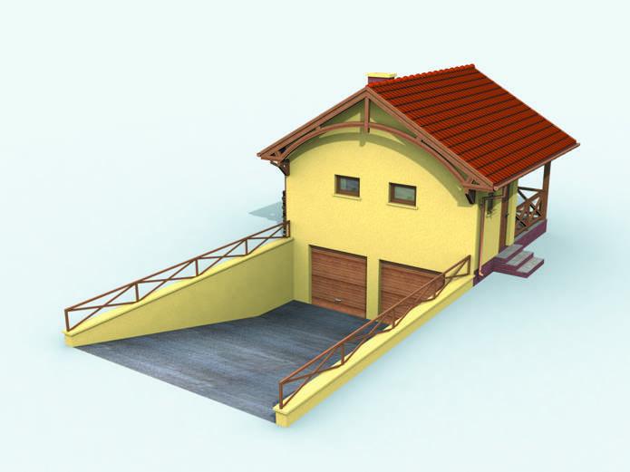 Дома в три этажа, с гаражом в цоколе (выбор проекта)