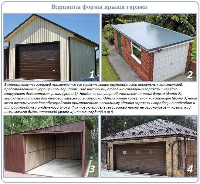 Гараж с односкатной крышей - домашний мастер moydom-irk.ru