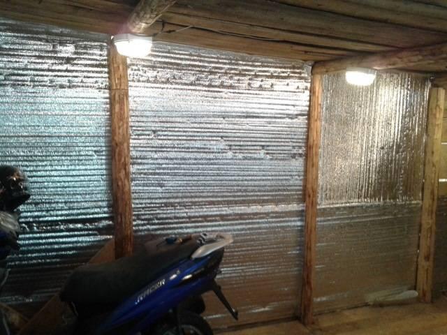 Утепление гаража (гаражных ворот) изнутри своими руками