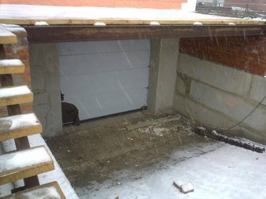 Подземный гараж своими руками и по технологии. подземный гараж из кирпича построить подземный гараж