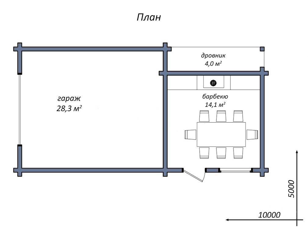 Хозяйственные постройки на даче, приусадебном участке: проекты и определение по снип