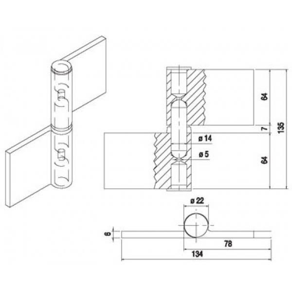 Петли гаражные: выбор материала и размера, виды и пошаговая инструкция по установке