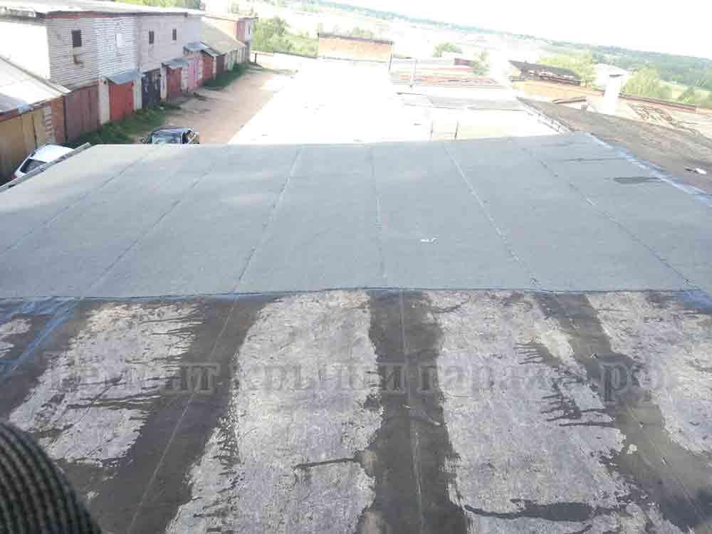 Чем покрыть крышу гаража из бетонных плит? материалы и технология укладки