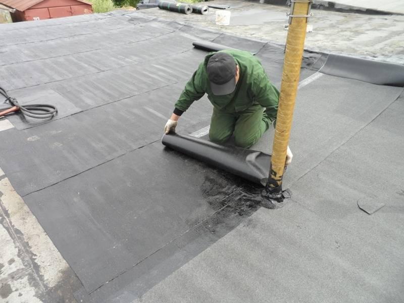 Как и чем отремонтировать старую крышу гаража