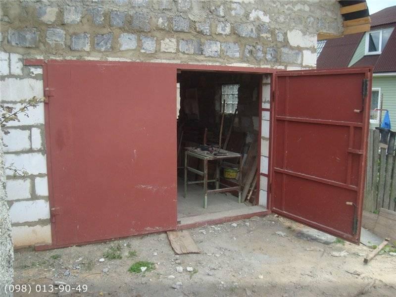 Выбираем ворота для дачи и гаража. что надо знать?