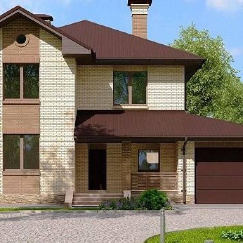 Одноэтажный дом с гаражом: фото идей по совмещению