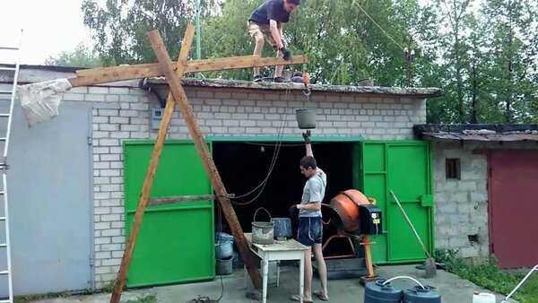 Как удлинить гараж: 4 этапа самостоятельной работы