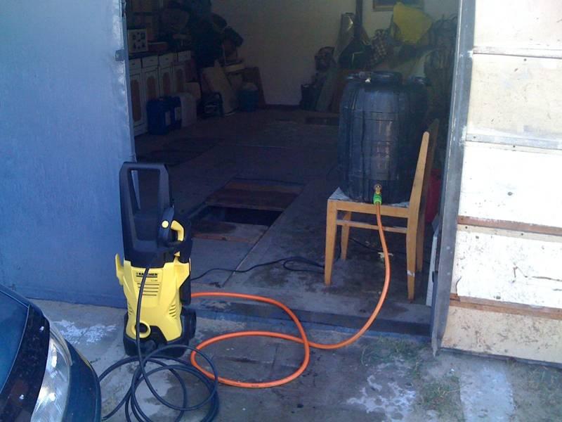 Как быстро сделать умывальник для гаража? ответ в статье!