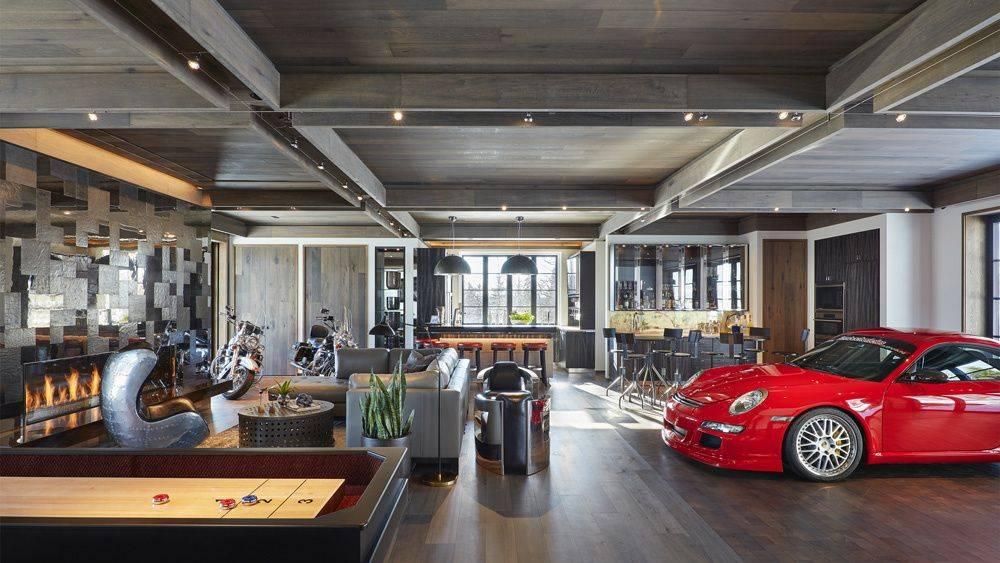 Топ-9 лучших проектов гаражей: фотоподборка