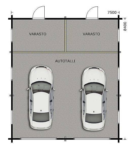 Расчёт оптимальных размеров гаража