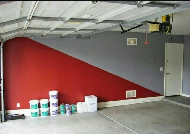 Краска для гаража