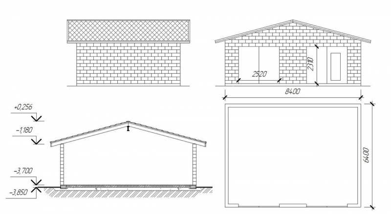 Фундамент под гараж из шлакоблока своими руками - подробная инструкция