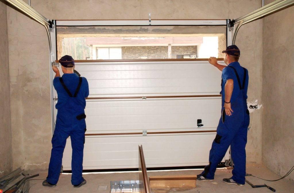 Ремонт ворот гаража: как делать правильно