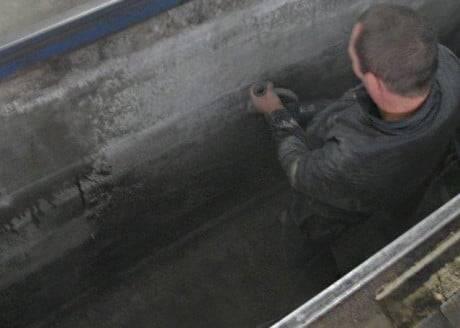 Пол ямы в гараже, подвале и смотровой яме, устройство и заливка