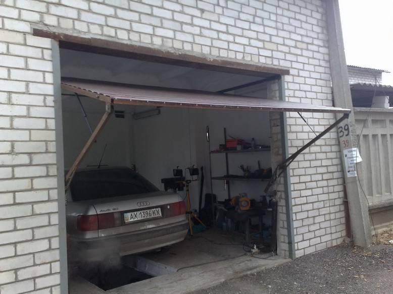 Как сделать секционные ворота в гараж своими руками, виды и размеры