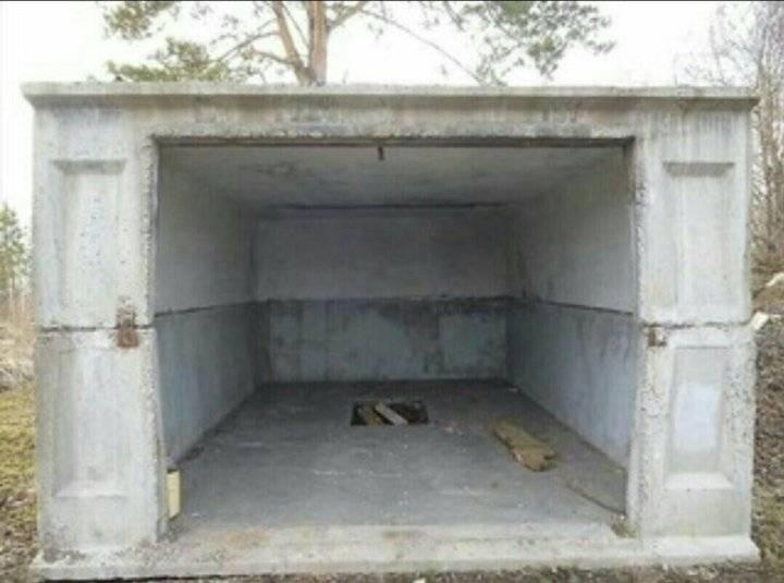 Фундамент под железный гараж своими руками: строительство с самого начала