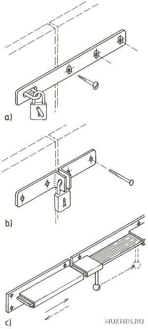 Гаражные ворота своими руками: изготовление и установка