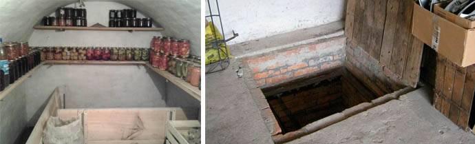 Как избавиться от сырости в погребе и просушить подвал