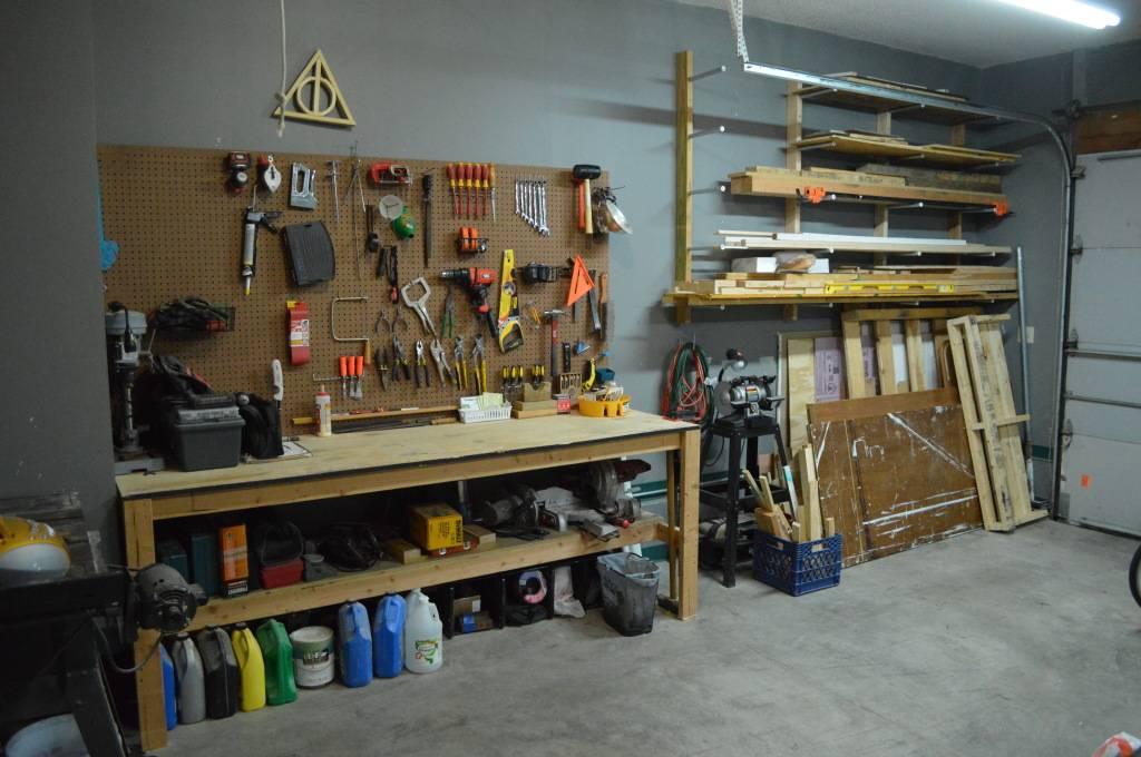 Самоделки для гаража своими руками: варианты изделий для обустройства гаража, подробные схемы и чертежи для создания своими руками