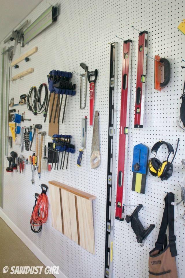 Как хранить инструменты в гараже