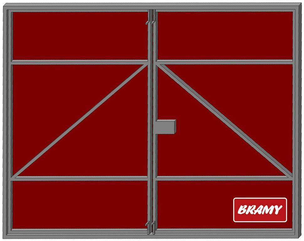 Гаражные ворота распашные: монтаж и установка своими руками, чертежи и размеры