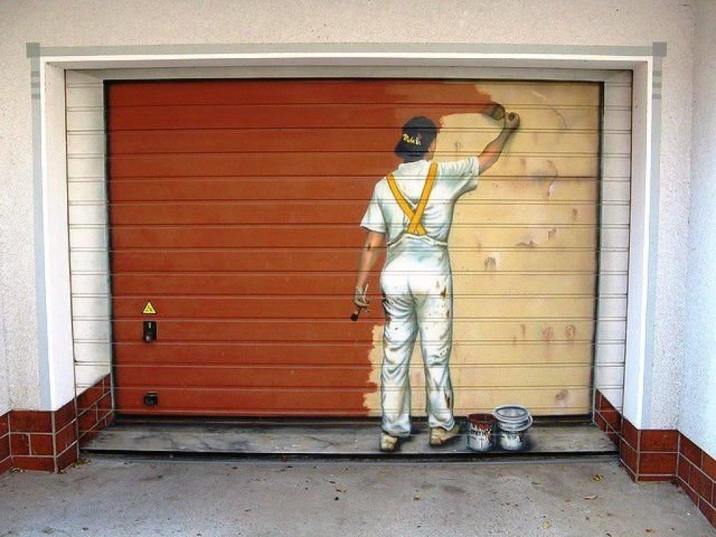 Как покрасить металлический гараж и все предусмотрев