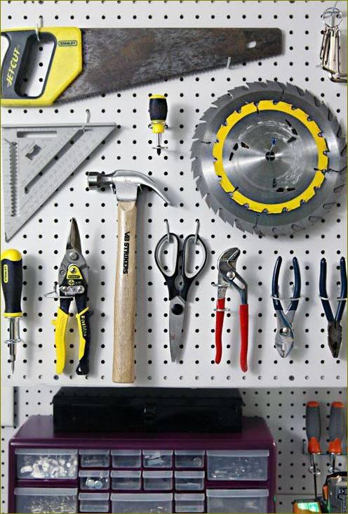 Системы хранения для гаража: как навести порядок в гараже и разместить инструмент