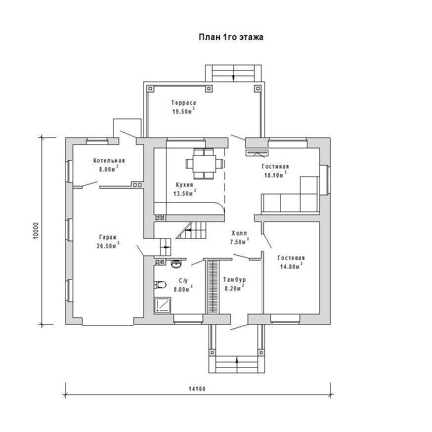 Как составляют проекты домов с цокольным этажом?