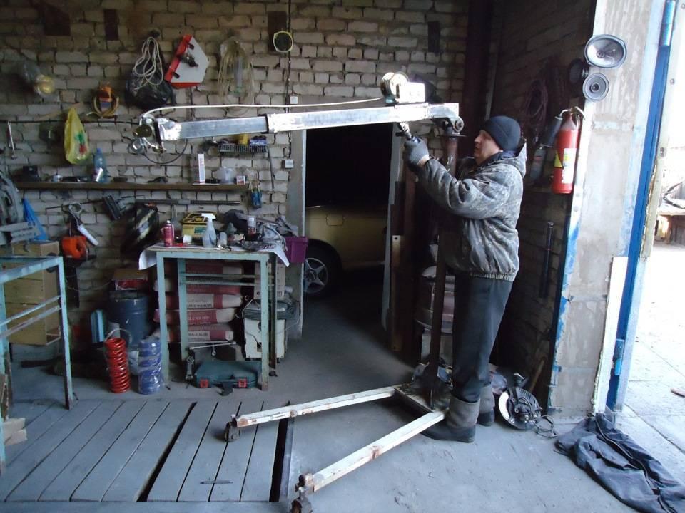 Как построить бюджетный гараж своими руками от фундамента до крыши