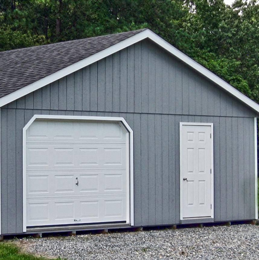 Металлический гараж размеры стандартные