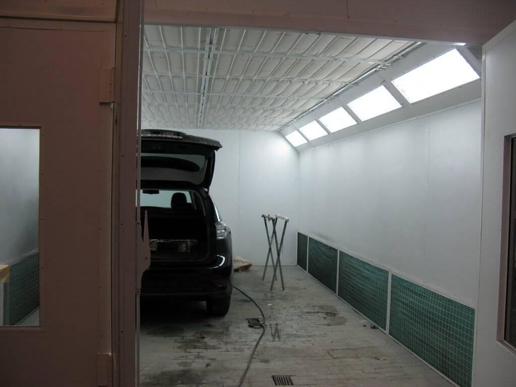Покраска автомобиля в гараже своими руками