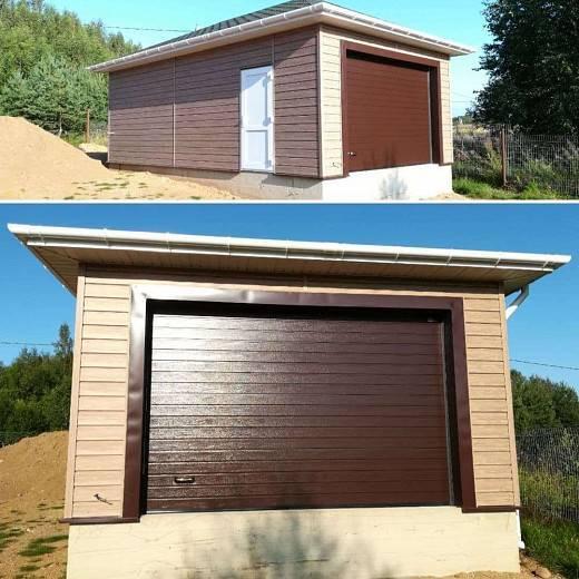 Размеры ворот для гаража: стандартные размеры гаражных ворот для легкового автомобиля   alutech.ru
