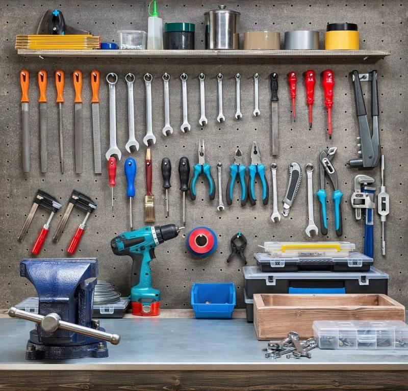 Как организовать хранение в гараже?