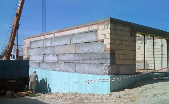 Железобетонный гараж: сборные конструкции из монолитных плит и жби панелей, размеры