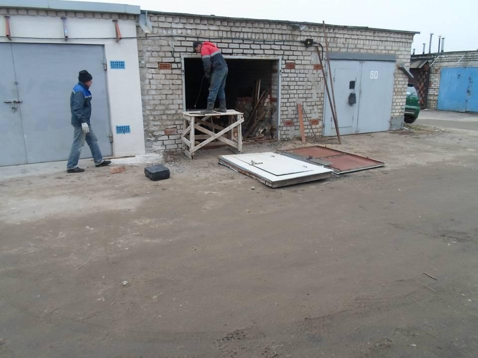 Как нарастить ворота гаража в высоту: пошаговый мастер-класс | мастремонт.ру