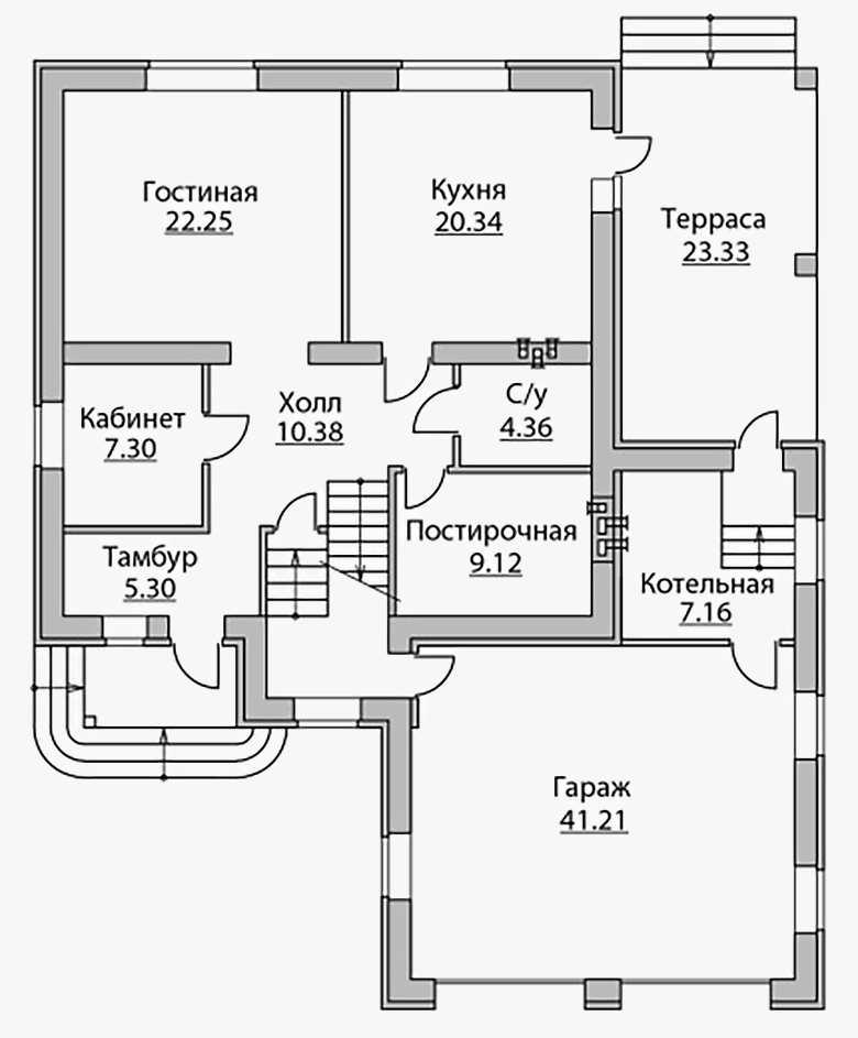 Дома с мансардой и гаражом – проекты, материалы, особенности и нюансы