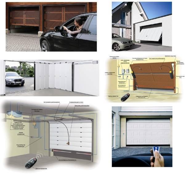 Стандарты ширины и высоты ворот для гаража
