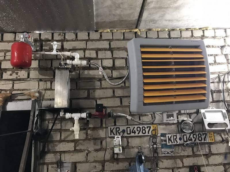Сравнение различных вариантов отопления гаража