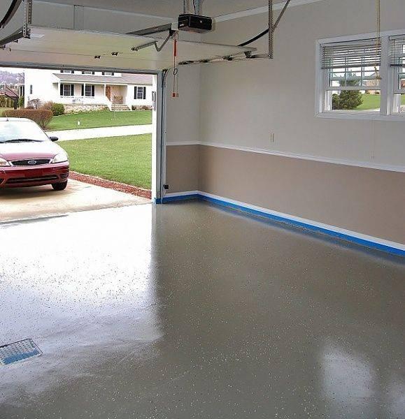 Покраска бетонных стен - чем и какой краской работать: на улице, балконе квартиры или в гараже