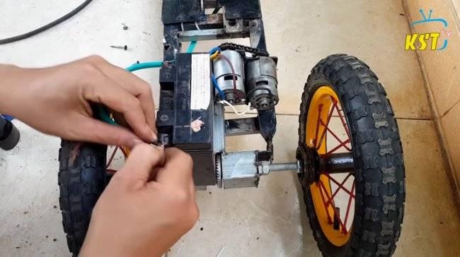 Изготовление электросамоката своими руками.