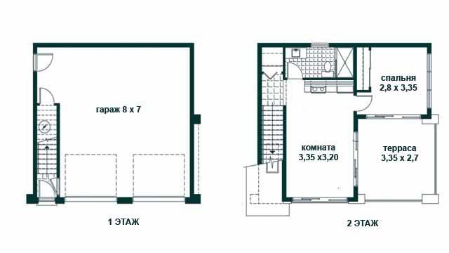 Планировка дома с гаражом: 120 фото лучших дизайн-проектов + схемы и чертежи с описаниемварианты планировки и дизайна
