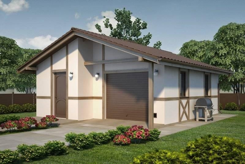 Проект гаража на 2 автомобиля: планировка, размеры, особенности