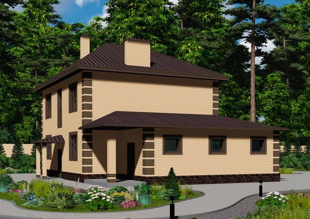 Проекты домов с гаражом под одной крышей: красивые и практичные идеи