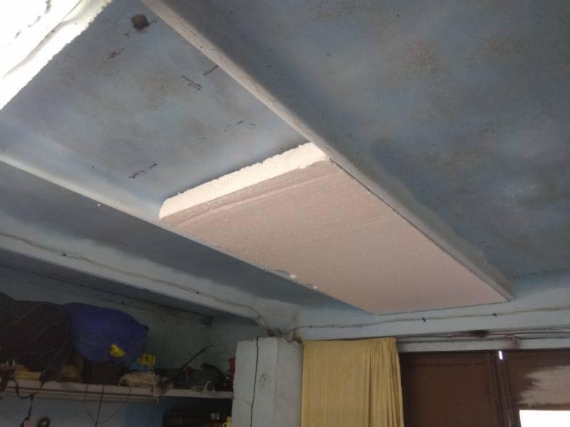 Уют для четырехколесного друга или как лучше утеплить потолок в гараже