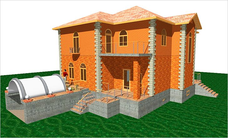 Устройство цокольного этажа: визуализация, конструктив, внутренняя планировка и отделка