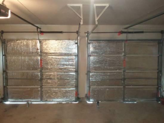 Утепление гаража изнутри и снаружи своими руками – теплоизоляция стен, пола, потолка, ворот + фото-видео