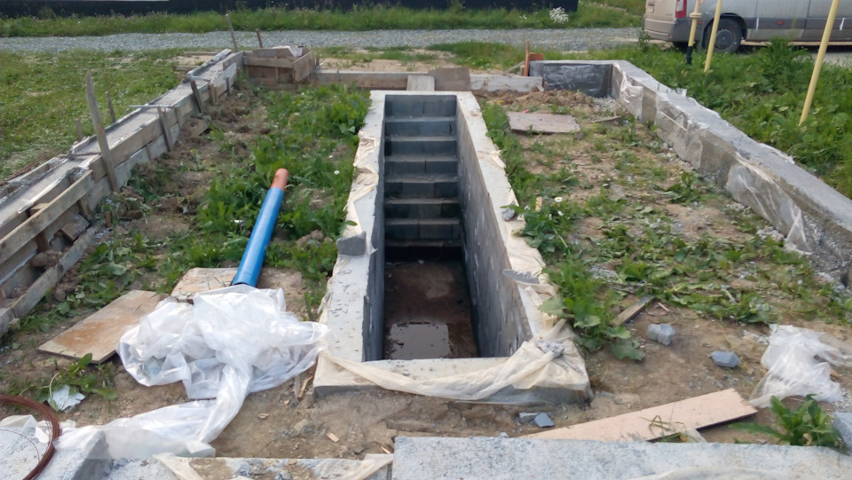 Как залить фундамент под гараж: тонкости и особенности процесса