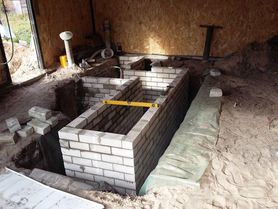 Проект гаража на 1 машину с погребом. погреб и смотровая яма в гараже: плюсы
