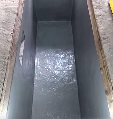Как сделать гидроизоляцию смотровой ямы?