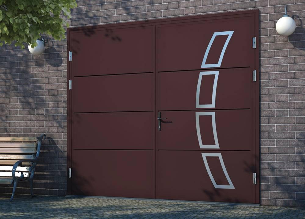 Секционные ворота «алютех» от компании «беккер»